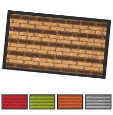 Zerbino tappeto asciugapassi entrata 40x70 antiscivolo antinciampo mattoncini