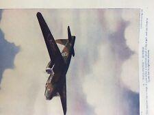 m17a4 ephemera 1920s book plate r a f a wellington bomber ww2