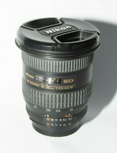 Nikon AF 18-35mm F3.5-4.5 D ED Wide Angle Lens - Full Frame