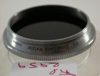 Original Leica Leitz Summitar Rot Red R.d. Filter Lens 36Ø E-36mm Germany 2959/9