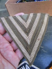 WWII Canadian / British Seargents Shoulder Sleeve Insignia Chevrons