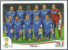 PANINI WORLD CUP 2014- #318-ITALIA-ITALY TEAM PHOTO