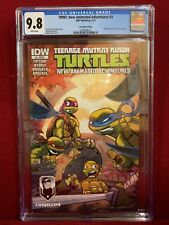 CGC 9.8 TMNT Ninja Turtles New Animated Adventures #3 (IDW)-Montreal Comiccon