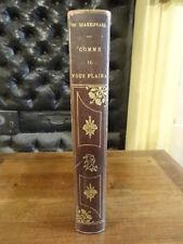 Comme il vous plaira Shakespeare Flammarion Illustré Thomson Reliure Signée