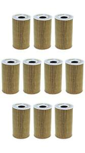 Set of 10 Porsche Cayenne Mahle Engine Oil Filters OX128/1DECO 99610722553