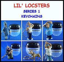 LIL LOCSTERS SERIES 1 MINI FIGURE KEYCHAIN BACKPACK ZIPPER PULLS  -  YOU PICK