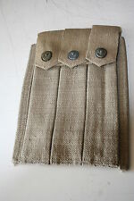 US  WW2 THOMPSON 3X30  MAG AMMO POUCH  REPRO