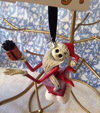 Disney Nightmare Before Christmas Santa Jack Skellington Sketchbook Ornament
