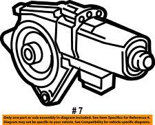 Dodge CHRYSLER OEM 13-16 Dart Front Door-Window Motor 68170254AB