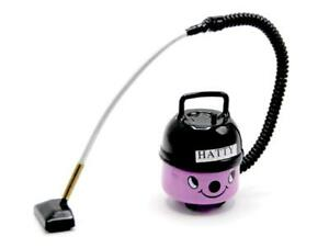 Dolls House Pink Vacuum Cleaner Hoover Miniature Modern Cleaning Accessory