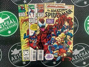Amazing Spider-Man #378 379 380 1993 Venom Maximum Carnage