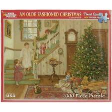 White Mountain Puzzles An Olde Fashioned Christmas by Lee Stroncek 1000 Piece