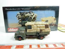 bg981-0, 5 #Schuco 1:90 05863 Truck Mercedes-Benz / MB L322 wüstentaxi, NIP