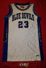 Bike BRAND Duke Blue Devils Men s sz M WHITE Basketball Jersey  23 8e2e33d7c