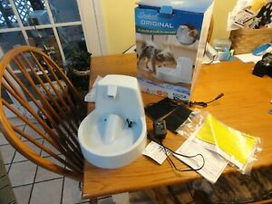 PetSafe Drinkwell  Pet Fountain White PWW00-13704 EXTRAS Perfect in Box