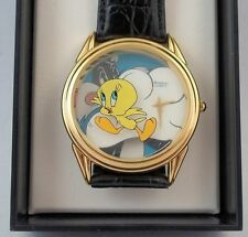 Sylvester Watch w/ Tweety Bird 3-D Looney Tunes Character Watch in Original Box