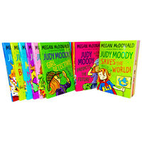 Judy Moody 14 Books Young Adult Collection Paperback Box Set By Megan McDonald