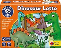 Orchard Toys DINOSAUR LOTTO Educational Game Puzzle BN