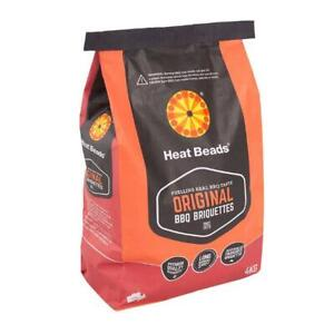 Heat Beads 4kg Barbecue Briquettes Long Burning Odourless High Consistency