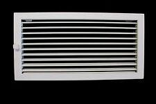 Warmluftgitter 55x23 - weiß - Lamellengitter - Kamingitter - Lüftungsgitter