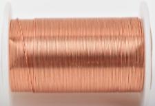 Made in USA Non-Tarnish Copper 24ga 25yd Craftwire