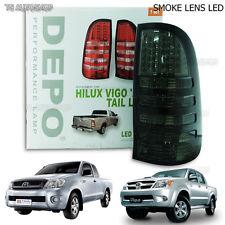 Toyota Hilux Vigo Mk6 Ute 05 - 14 Rear Back Smoke Tail Lamp Light Kun Led Light
