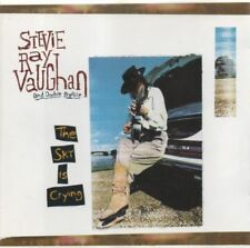 STEVIE RAY VAUGHAN and DOUBLE TROUBLE CD 1991 THE SKY IS CRYING Texas Blues
