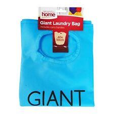 Giant Laundry Bag Various Colours Double Handles 40cm X 50cm Blue