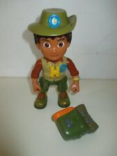 "Go Diego Go Extreme Rescue Rainforest - Large Size Diego Figure 6.5"" RARE"