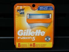 GILLETTE FUSION 5 REFILL RAZOR BLADES 8 Cartridges, Brand New, #018