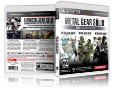 Metal Gear Solid HD Collection - Custom Replacement PS3 Cover and Case. NO GAME!