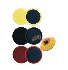 "Meguiars 3 X Spot almohadillas de espuma 4"" 100 mm Corte Pulido Acabado da respaldo Kit G220"