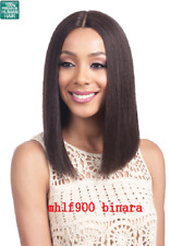 "BOBBI BOSS MHLF900 BINARA  HUMAN HAIR HAND TIED 5"" DEEP PART LACE FRONT WIG"