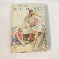 TAYLOR'S BIBLE STORY BOOK 1970 HC Book Vintage - Tyndale Hard Cover