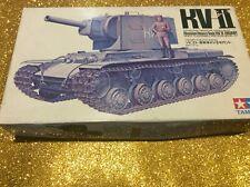 TAMIYA 1/35 KV-II RUSSIAN HEAVY TANK