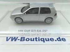+ VOLKSWAGEN VW Golf 4 GTI 25th Anniversary 1:43  silber von DNA Neu nur 320 St.