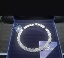 Genuine Authentic Swarovski Collar. Wedding Necklace. crystal bride. W/ Earrings