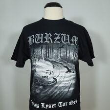 1BURZUM Hvis Lyset Tar Oss T-Shirt Black Men's size M (NEW)