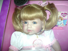 """Adora 20"""" Toddler Doll """"Happy Birthday Baby"""" on Blonde Hair Blue Eyes Ages 6+"""