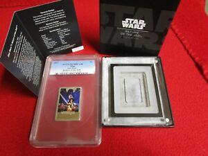 2017 Star Wars Return of the Jedi Niue $2 .999 Silver 1 Oz PCGS PR PF 70 Coin