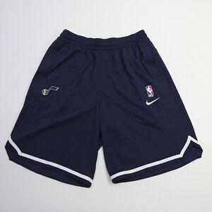 Utah Jazz Nike NBA Authentics DriFit Athletic Shorts Men's Navy New with Tags