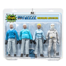 Batman Classic TV Series Figures: Mr. Freeze and 3 Henchman Figures Four-Pack
