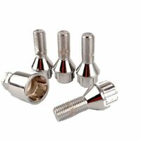 M12x1.5 Alloy Wheel Locking Nuts Stud Security Lug Bolts Tapered For Vauxhall