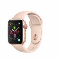 Apple Watch Series 4 A1975 40mm Aluminum Case Pink Sport Band Smart Watch