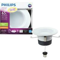 Philips 2 Pk LED Downlight Value Pack 65W Equivalent Soft White 5 or 6 Inch