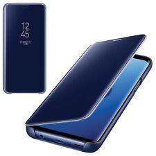 CUSTODIA Samsung s9 CLEAR view Cover Guscio EF-ZG960CLEGWW per Galaxy s9 BLU