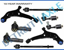 For Nissan Maxima Infiniti i30 Front Control Arm TieRod Sway Bar End Kit 8pc