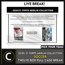 2020/21 TOPPS MERLIN CHROME Soccer 12 Caja Completo Funda romper #S192 - Elige Tu Equipo