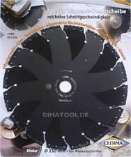 1x 230mm Cedima Universal Diamanttrennscheibe AR-Multicut für Winkelschleifer