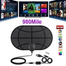 HOT 980Miles 4K Range Antenna TV Digital HDTV 1080P HD Skywire Antena Indoor UK*